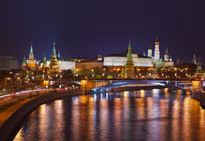 Kremlin in Moskau Russland lizenzfreies stockbild