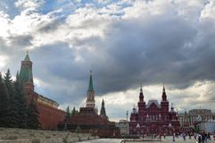 Red square, Moscow. Russia Royalty Free Stock Image
