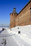 kremlin Nizhny Novgorod Arkivbild
