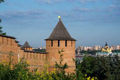 The Kremlin in Nizhny Novgorod Royalty Free Stock Photo