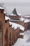 kremlin Nizhny Novgorod Royaltyfria Foton