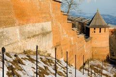 kremlin Nizhny Novgorod royaltyfri bild