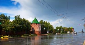 Kremlin at Nizhny Novgorod in summer Stock Photo