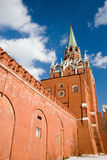 Kremlin no quadrado vermelho em Moscovo Imagens de Stock