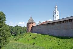 kremlin novgorod Royaltyfri Bild