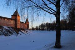 kremlin novgorod Fotografering för Bildbyråer