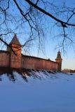 kremlin novgorod Arkivbild