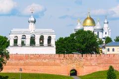 The Kremlin of Novgorod the Great Stock Photography