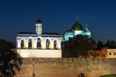 Kremlin of Novgorod the Great Royalty Free Stock Photography