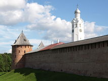 The Kremlin. The old walls of the Kremlin Stock Images