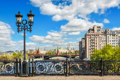 Kremlin and the openwork fence Stock Photography
