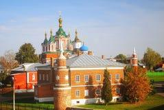 Kremlin panorama in Kolomna, Russia Stock Images