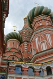 Kremlin przeciw niebu w Moskwa od bocznej architektury Obraz Royalty Free