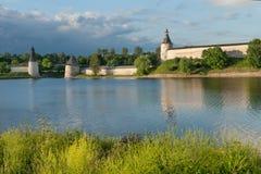 kremlin pskov Royaltyfri Bild