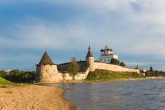 kremlin pskov стоковая фотография