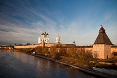 Kremlin. Pskov. Russia Royalty Free Stock Photos