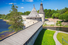 Kremlin of Pskov, Russia. Russian ancient architecture Stock Photography