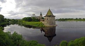 kremlin pskov Ryssland Royaltyfria Bilder