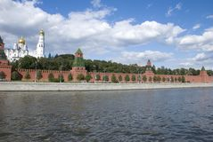 The Kremlin quay Royalty Free Stock Images