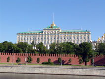 The Kremlin quay Stock Image