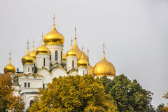 Kremlin quay in Moscow Royalty Free Stock Photos