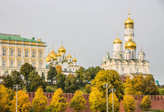Kremlin quay in Moscow Stock Photos
