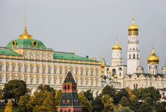 Kremlin quay in Moscow Stock Image