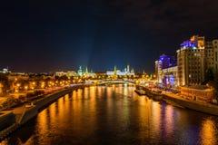 Kremlin quay Royalty Free Stock Photo