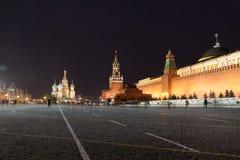 kremlin röd fyrkant Arkivfoto