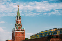 Kremlin, red square in Moscow, Russia Royalty Free Stock Photos