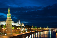 Kremlin and river close up Royalty Free Stock Image