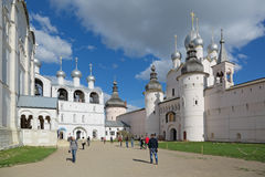 kremlin rostov Royaltyfria Foton