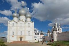 kremlin rostov Royaltyfri Fotografi