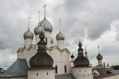 The kremlin of Rostov the great Royalty Free Stock Photo