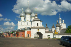 The Kremlin in Rostov the Great. Gold ring of Russia. Royalty Free Stock Images