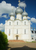 The Kremlin in Rostov the Great. Gold ring of Russia. Stock Image