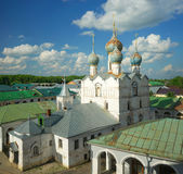 The Kremlin in Rostov the Great. Gold ring of Russia. Stock Photo