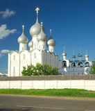 The Kremlin in Rostov the Great. Gold ring of Russia. Royalty Free Stock Photography