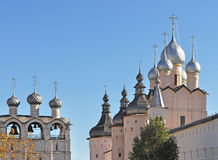 Kremlin in Rostov The Great, Russia Stock Photos