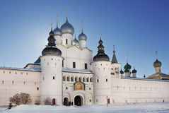 The Kremlin of Rostov the Great Stock Photo