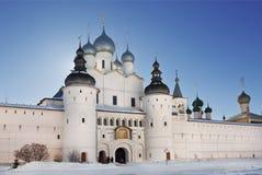 The Kremlin of Rostov the Great Stock Photo