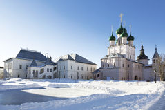 The Kremlin of Rostov the Great Stock Photos