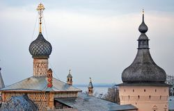 Kremlin in Rostov, Russia Royalty Free Stock Photos