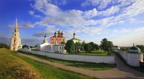 kremlin ryazan Arkivbild