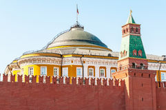 Kremlin's Detail in Moscow Stock Images