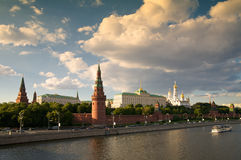 Kremlin S Tower In Moscow Stock Image