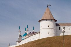 Kremlin's tower Stock Images