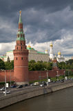 Kremlin's tower in Moscow Stock Images
