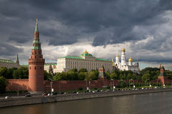 Kremlin's tower in Moscow Royalty Free Stock Photography