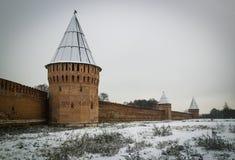 kremlin Smolensk Image stock